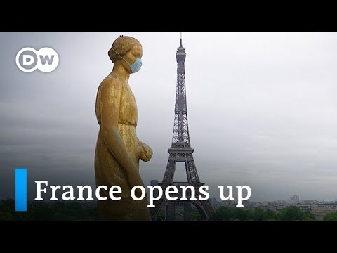 Macron eases France's eight-week coronavirus lockdown   DW Information