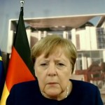 'Are you able to hear me now?' Angela Merkel faces technical difficulties throughout a video convention