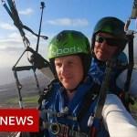 Paragliding over Tenerife's coronavirus-hit lodge – BBC Information