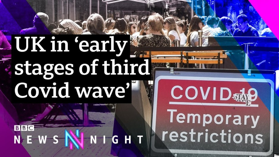 What affect might rising circumstances have on the ending of Covid restrictions?– BBC Newsnight