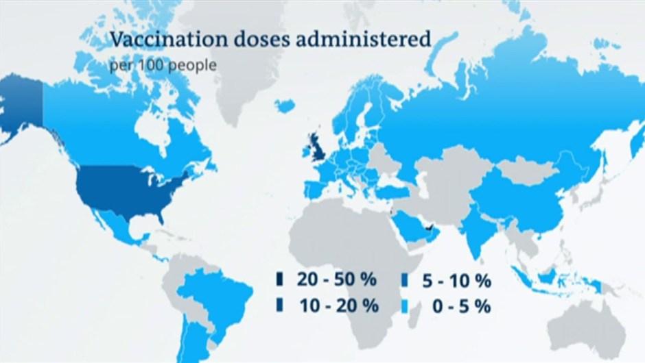 Actuality verify for coronavirus vaccination methods   DW Information