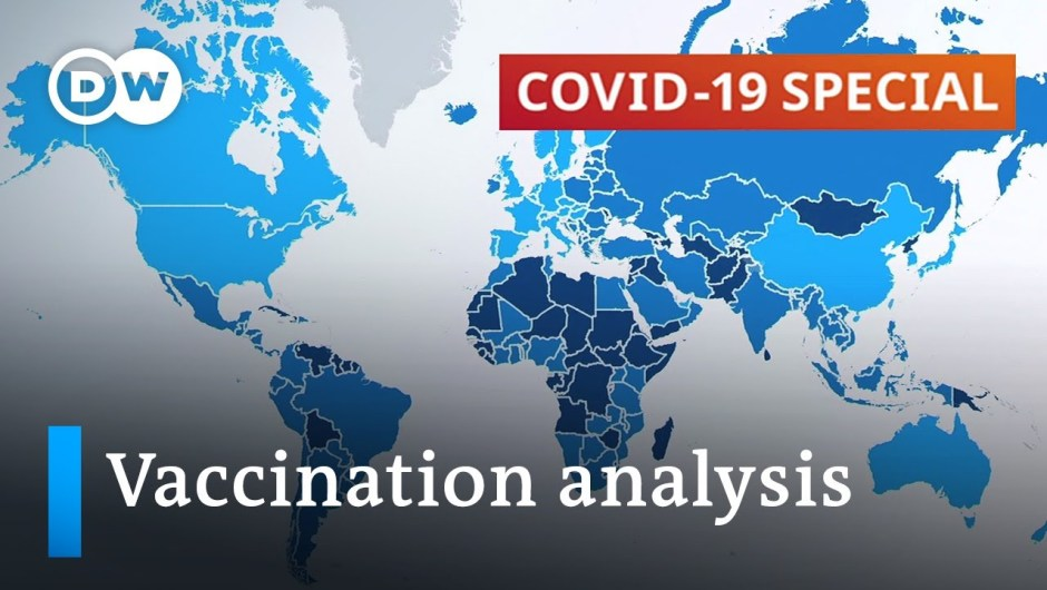 Mapping coronavirus vaccination progress and vaccine distribution   COVID-19 Particular
