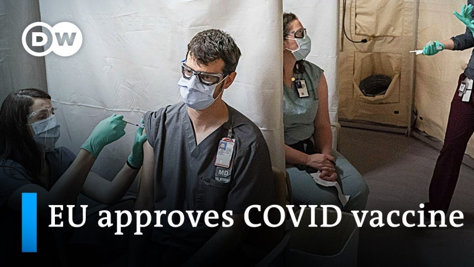 European Union approves BioNTech-Pfizer COVID vaccine | Coronavirus Replace