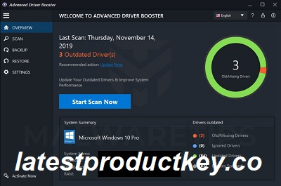 Driver Booster 4.1 Pro Key