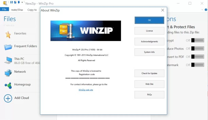 WinZip Pro 2020 Crack With Activation Free Download