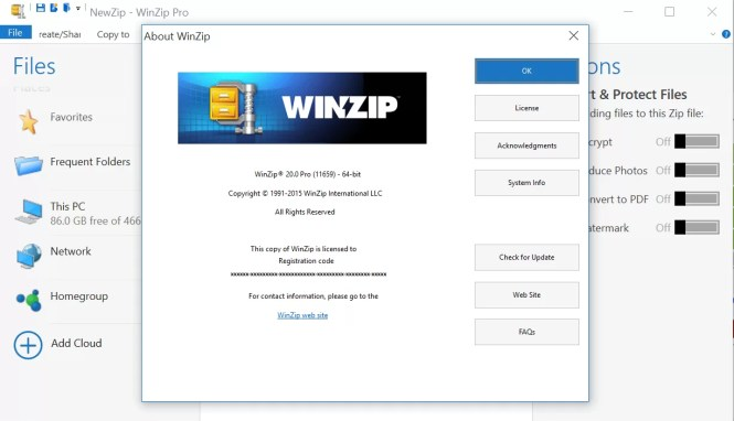 Image result for winzip activation code crack