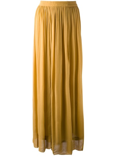STELLA FOREST pleated maxi skirt http://goo.gl/mC7cfq