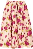 MICHAEL KORS Printed faille skirt tiny.cc/hl9p9w