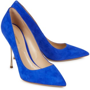 Nicholas Kirkwood Pointed Suede Pumps