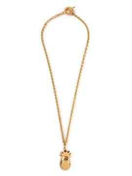 CÉLINE VINTAGE pineapple pendant necklace