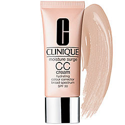 BB + CC CREAM | CLINIQUE Moisture Surge CC Cream Hydrating Colour Corrector Broad Spectrum SPF 30, $39 from sephora.com