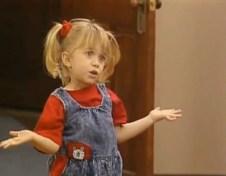 Denim overalls were Michelle's style staple