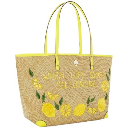 BEACH BAG | KATE SPADE NEW YORK Vita Riva Francis, $270 from lordandtaylor.com