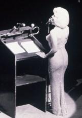 MARILYN MONROE Singing 'Happy Birthday' to President Kennedy in 1962.