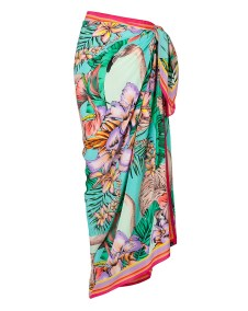 COVER-UPS | MATTHEW WILLIAMSON Silk Flamingo Bay Sarong, $340 from shopbop.com