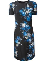 13. T-SHIRT DRESS | MCQ BY ALEXANDER MCQUEEN floral print t-shirt dress, from farfetch.com