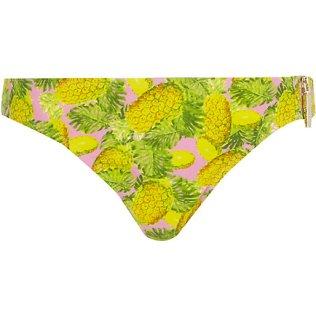 RIVER ISLAND Yellow Pineapple Print Bikini Bottom