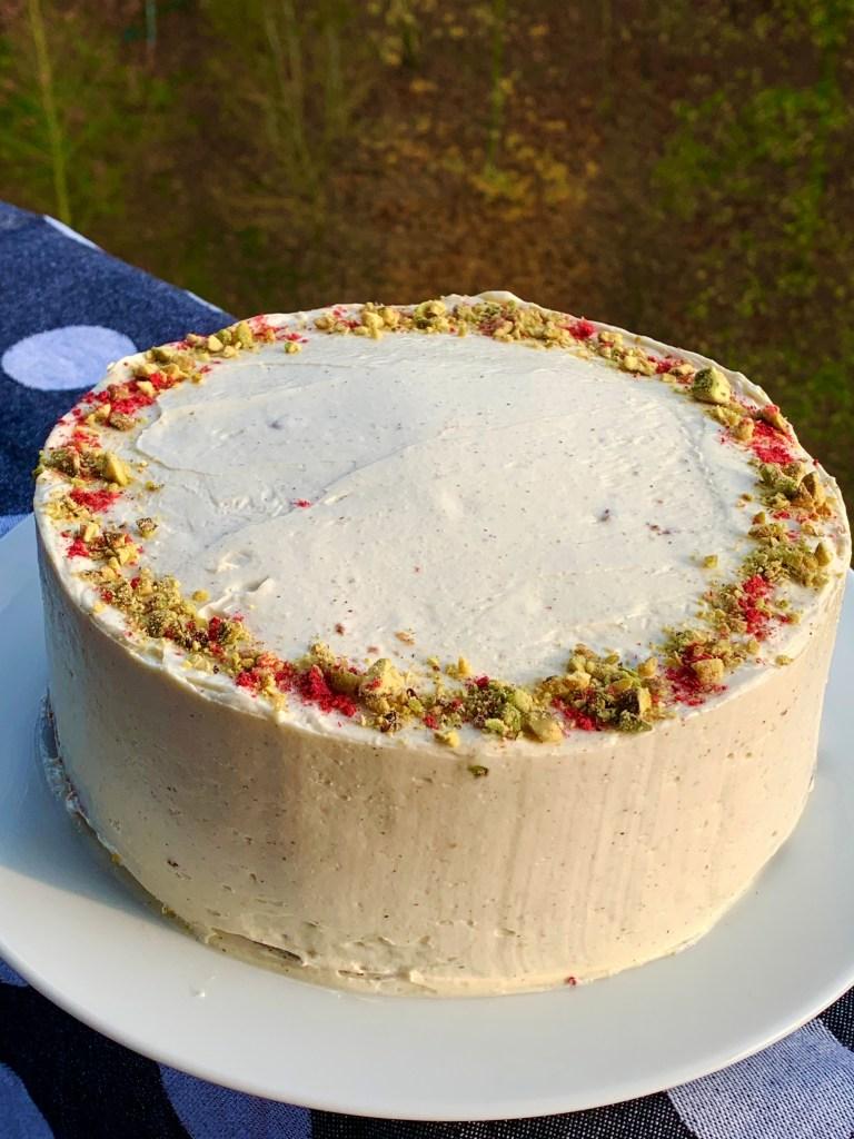 veganský bezlepkový mrkvový dort