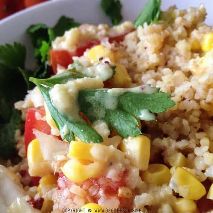 salade quinoa boulghour