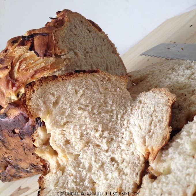 pain aux oignons recette a la map