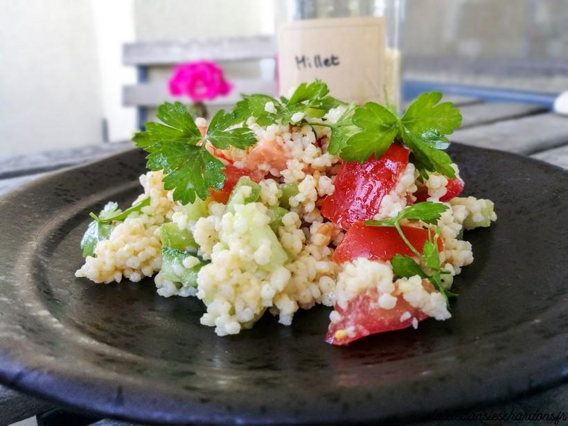 recette taboulé de millet salade
