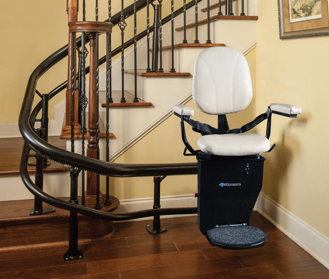 Stair Chair Lifts San Francisco Helix Stairway Staircase San Jose Custom