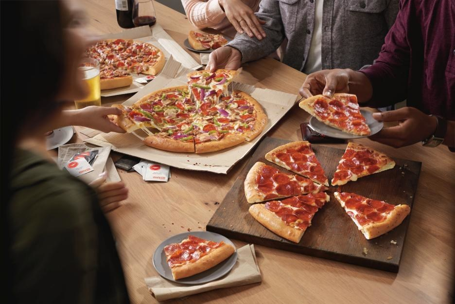 Image result for pizza at party