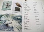 Rebecca Latham's work listed in the National Exhibition of Wildlife Art, Wirral, UK - Photo courtesy of Stuart Latham