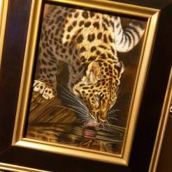 My painting, Predator's Watch - Amur Leopard, on its way to Singapore for 2015's largest exhibition of wildlife art in Asia hosted by Mandala Fine Art @mandalafineart #wildlife #wildlifeart #watercolor #artshow #exhibition #singapore #asia #amur #leopard #endangered #artoftheday #art #artist #painting