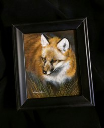 New small wildlife watercolor painting by Rebecca Latham