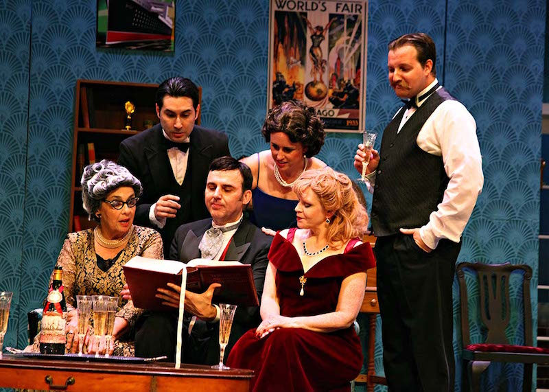 The Game's Afoot @ Whittier Community Theatre - Review