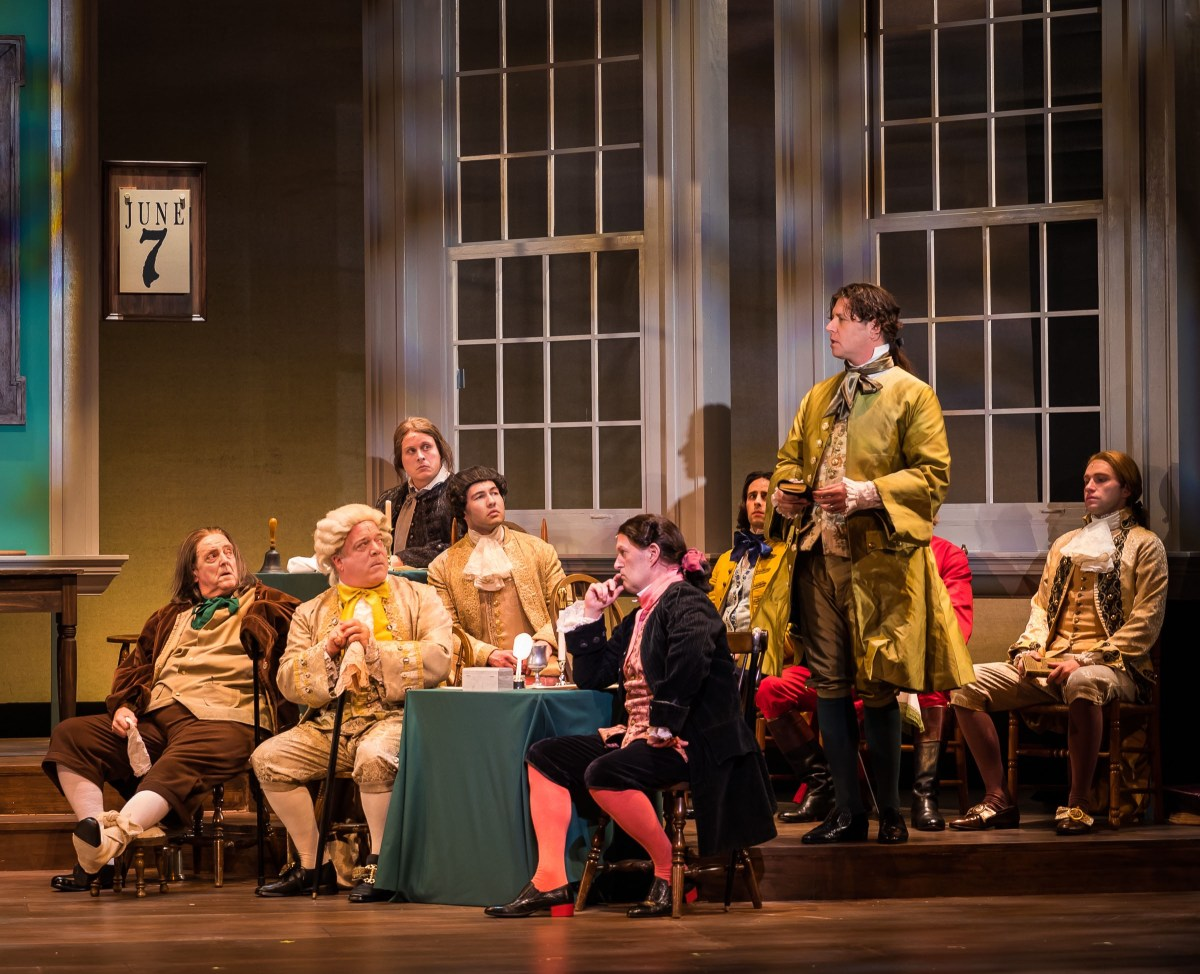 McCoy Rigby Entertainment presents : 1776 @ La Mirada Theatre for the Performing Arts – Review