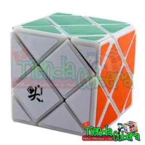 Dino Skewb Dayan Four Cube Base Blanca Speed Cube