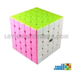 Moyu Aochuang 5x5x5 Stickerless Pink