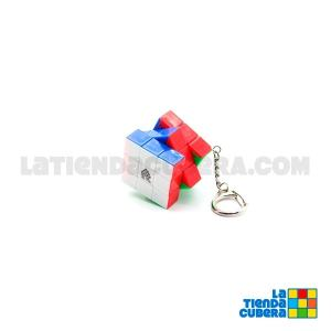WitEden 3x3x3 Mini Stickerless Keychain