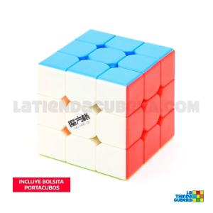 MoFange QiYi 3x3x3 Thunderbolt Stickerless