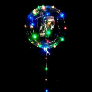 Globo luminoso cristal con LEDS