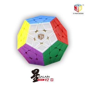 Mofangge X-MAN Galaxy V2 Megaminx Magnetic Version Qiyi