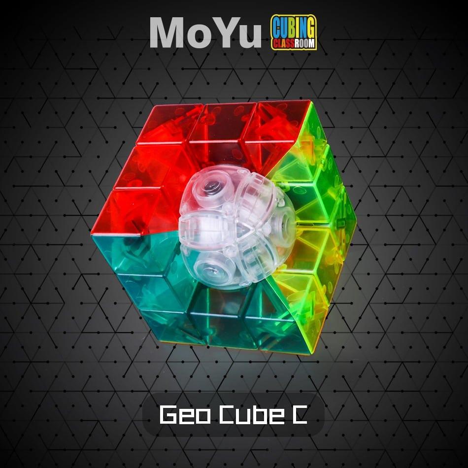 Geo Cube Moyu MF transparente 3x3x3