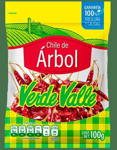 Chile de Árbol Verde Valle