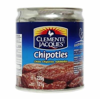 Chiles Chipotles Adobados Clemente Jacques