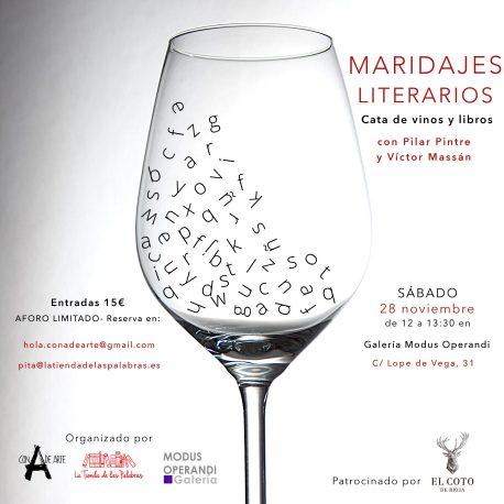 maridaje libros y vinos