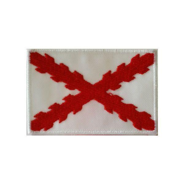 """Bordado """"España Antigua""""  con Cruz de Borgoña"""