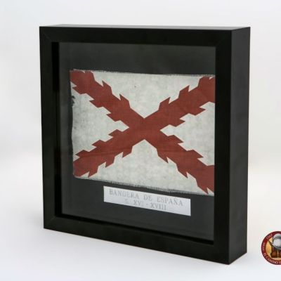 Bandera España Antigua enmarcada