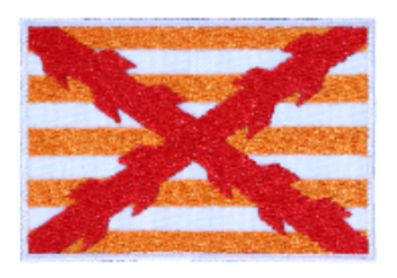"Bordado ""Bandera Capitana"" – Gran Armada 1588"