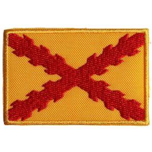 Bordado «Bandera de Felipe II», con Cruz de Borgoña