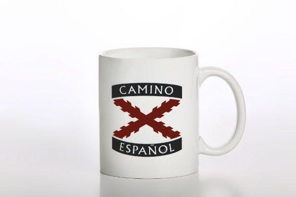 Taza del Camino Español  y tómate un Café con Historia