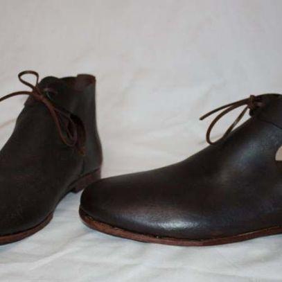 Zapatos Tercios siglo XVII