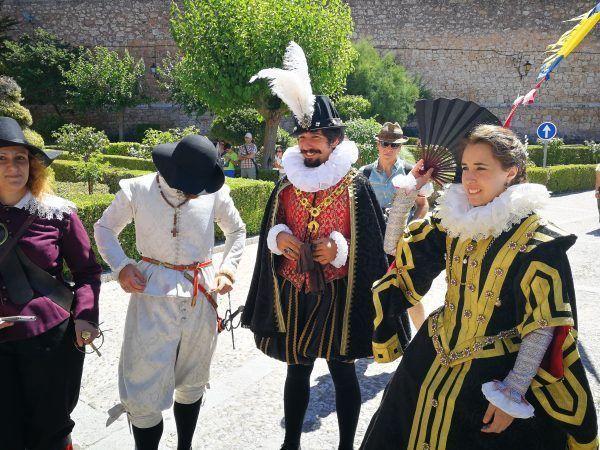 Felipe III y su esposa en la Recreación de Lerma