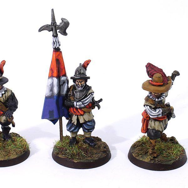 Pack 3 Capitanes Mercenarios Orange-Nassau